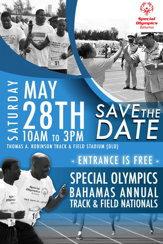 Special Olympics Bahamas - Track and Field - Save the Date! (1)