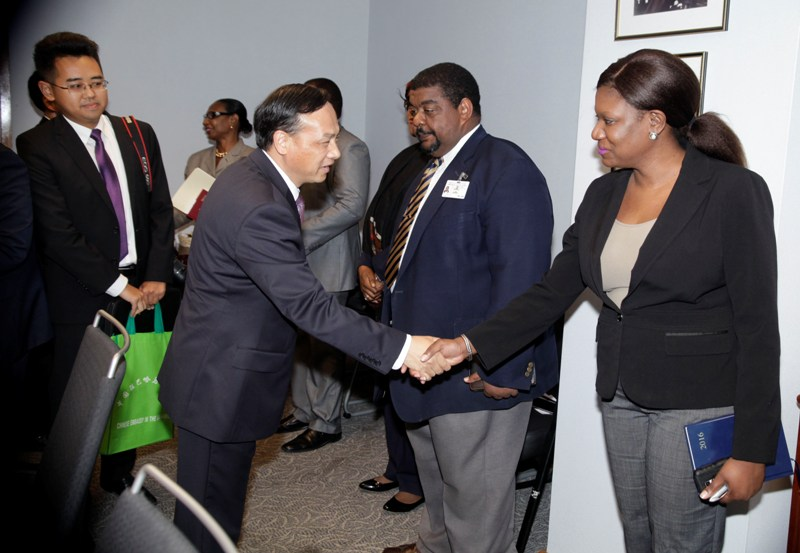Acting Minister of Foreign Affairs&Chinese Ambassador May 24, 2016. .  038044