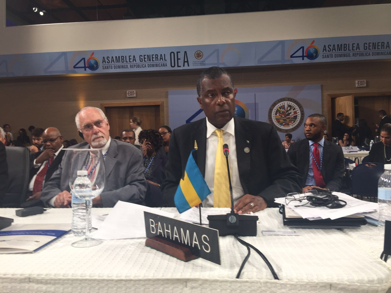 OAS General Assembly in Santo Domingo - 14th June - Ministry