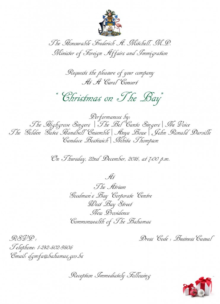 Christman on The Bay - Official Invitation